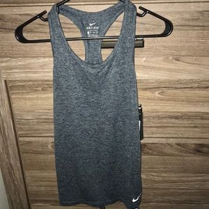 Nike workout racer back tank! NEW WITH TAGS